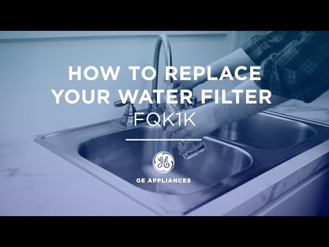 Replace and Install the FQK1K Water Filter