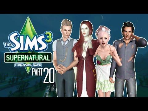 Let's Play: The Sims 3 Supernatural | Part 20 | Werewolf Bromances