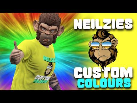 GTA 5 Online Paint Jobs - Best Rare Crew Colors week #2- 15th to 21st May