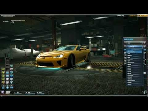 Need For Speed World Best Way to Earn Cash (February 2013)