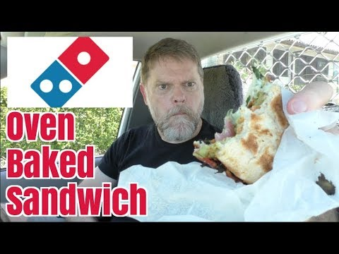 New Domino's Oven Baked Sandwich Food Review - Greg's Kitchen
