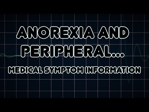 Anorexia and Peripheral edema (Medical Symptom)