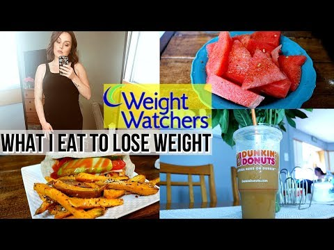 WHAT I EAT TO LOSE WEIGHT / FULL DAY OF EATING / WEIGHT WATCHERS POINTS PLUS / DANIELA DIARIES