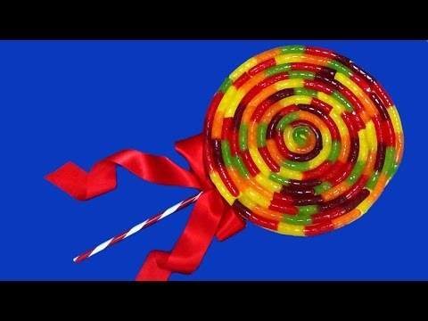 how to make giant lollipop cake