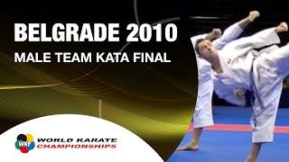 Karate Male Team Kata Final - Japan vs. Italy - WKF World Championships Belgrade 2010 (2/2)
