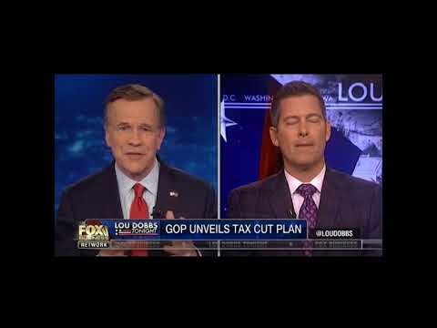 Sean Duffy Talks Tax Reform With Lou Dobbs