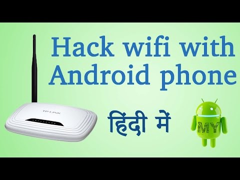 #DA29 How to hack wifi with Android phone - in  Hindi