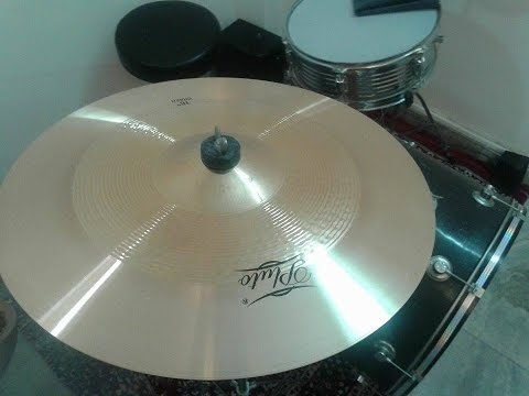 Sound Check : Pluto Tk - 16 Bronze Crash Cymbal
