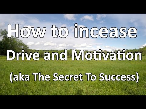 How to Get More Drive and Motivation