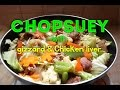 Chopsuey with Gizzard and Chicken Liver