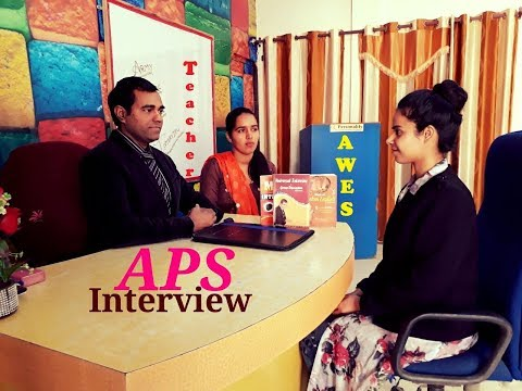 Army Public School pgt/tgt/prt teacher INTERVIEW : Mock Practice of APS : AWES Army Public school