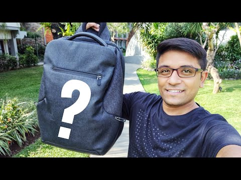 What's In My Travel Backpack - Amit Bhawani
