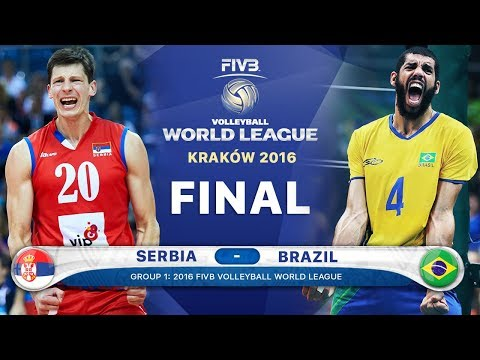 Xxx Mp4 GOLD Collection Serbia V Brazil Final 2016 Best Volleyball Actions FIVB Volleyball World League 3gp Sex