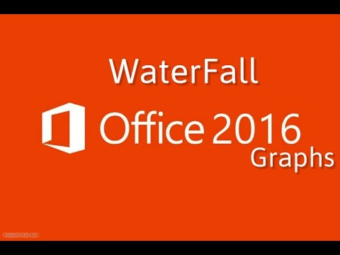 Office 2016 : Create Waterfall charts in Excel
