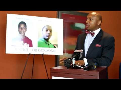 Ariston Waiters Press conference for civil law suit