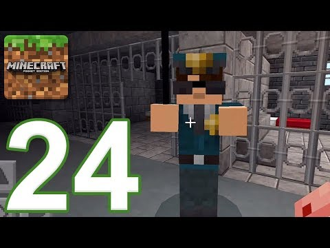 Minecraft: PE - Gameplay Walkthrough Part 24 - The Tale of Steve: Escape (iOS, Android)