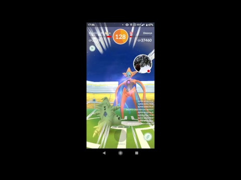 90 seconds left TRYING TO GET A NEW BEST TIME SOLOING DEOXYS!