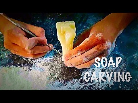 soap carvings/hand made soap hand carvingfor beginners