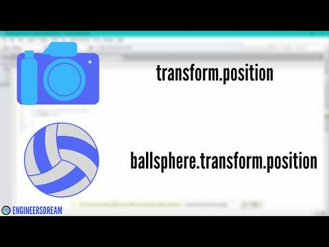 20.CAMERA FOLLOW SPHERE SCRIPT | BUILD VIRTUAL REALITY GAMES FOR UNITY USING GOOGLE CARDBOARD