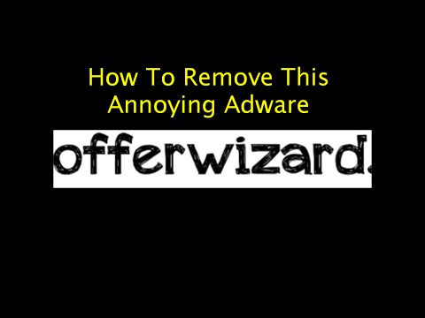 How to Remove Ads by OffersWizard Ads for Windows 7 (Simplest Way)