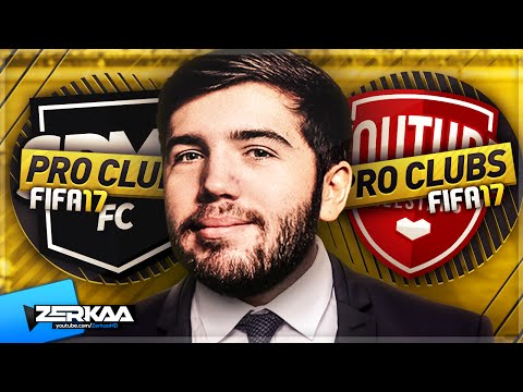 FIFA 17 PRO CLUBS | SDMN FC VS YOUTUBE FC