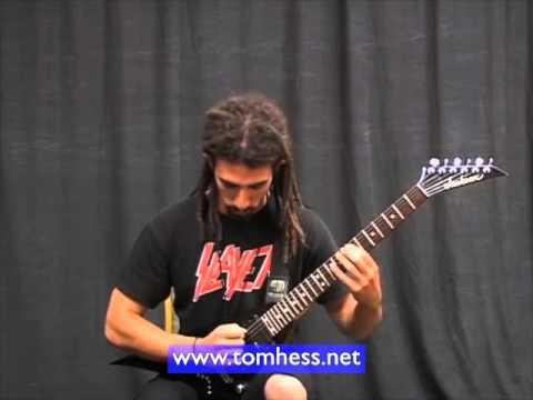 Aggressive Metal Rhythm Guitar Playing
