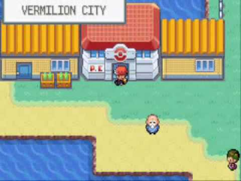 How to get to the 3 islands on Pokemon Leaf Green on GBA