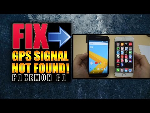 Pokemon Go GPS Signal not found Fix / Failed To Detect Location Fix! (Android & iOS - iPhone)