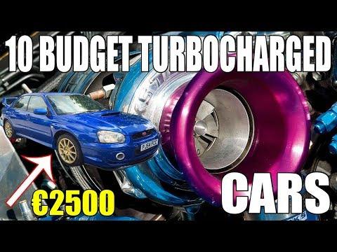 10 Budget Turbocharged Cars