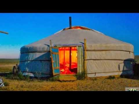 Traditional Portable Habitation | Mongolian Yurt, Ger