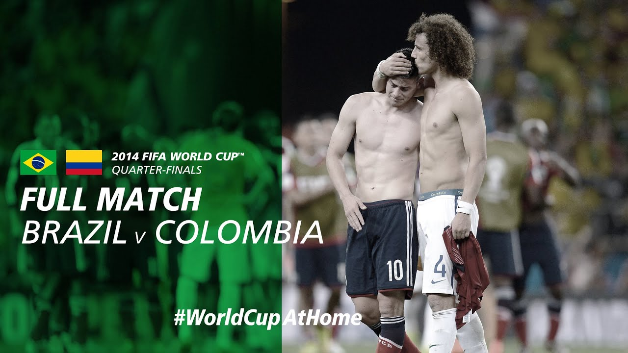 Brazil v Colombia | 2014 FIFA World Cup | Full Match