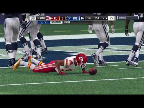 Madden NFL 17 bca steve smith amazing catch in traffic