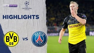 Borussia Dortmund 2-1 PSG   Champions League 19/20 Match Highlights