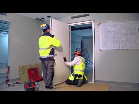 Fire door installation video