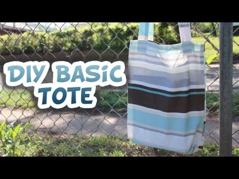 Basic Tote Bag | How to EASY - Whitney Sews
