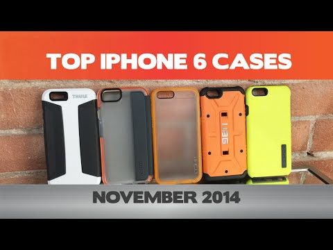The Best Slim/Protective iPhone 6/6 Plus cases  - November 2014 - Thule,UAG,Incipio,Tech 21