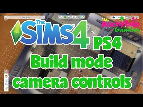 The Sims 4 on PS4: How to use the build mode camera controls!