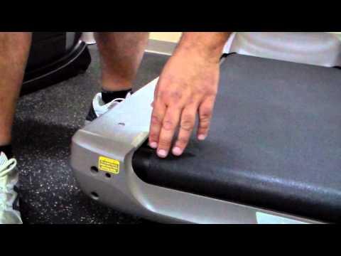 Treadmill Walking Belt Adjustment