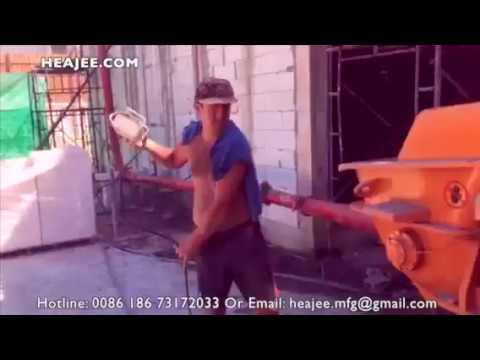 Thailand concrete mixer pump: HEAJEE BRAND