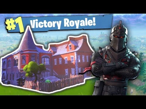 ONE HOUSE CHALLENGE in FORTNITE BATTLE ROYALE!!!