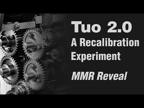 Dota 2 - Tuo 2.0 - A Recalibration Experiment - MMR Announcement & Closing Notes!