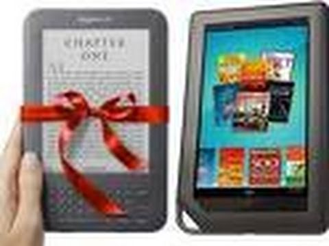 Kindle versus Nook Color