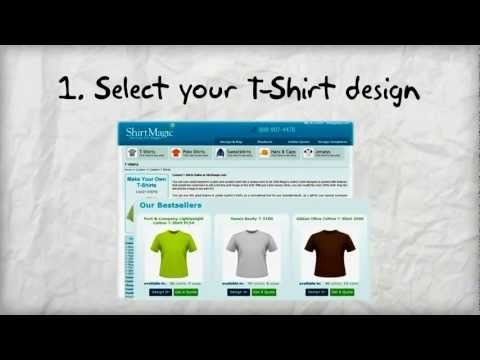 Custom T-Shirts -  Design your t shirts online today!