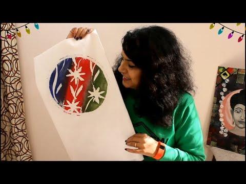 How To Do Super Easy Wax Batik Art