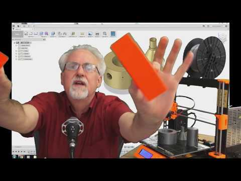 Learn Fusion 360 or Die Trying LESSON 2: First 3D Design for Absolute Beginners