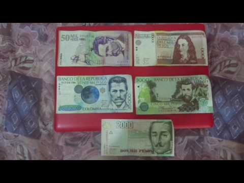 Colombia Currency - Exchange Rate with the U.S. Dollar