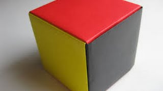 Download How to make paper cube easy way