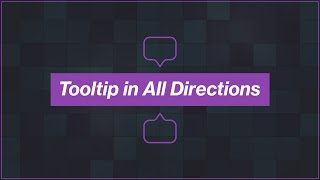 [Arabic] HTML, CSS Tutorials -  Create Tooltip In All Positions
