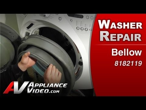 Washer Front load Bellow Diagnostic & Repair, leaking washer Whirlpool, Maytag, Sears,