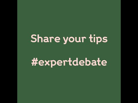 How to be convincing | join the #expertdebate